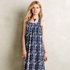 Anthropologie Greylin Arvan Ikat Maxi Dress XSP